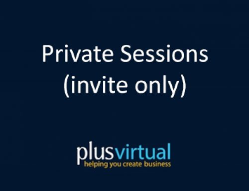 Private Sessions (invite only)