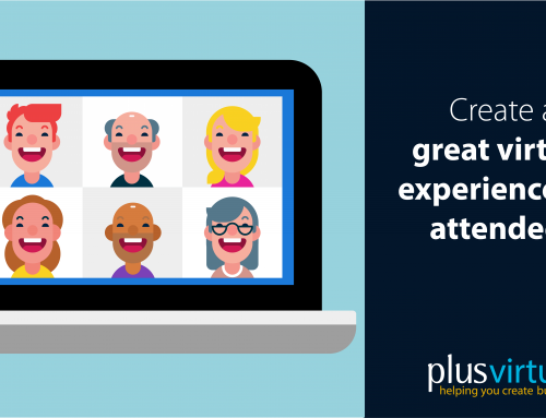 Create a great virtual experience for attendees